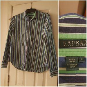 Lauren Ralph Lauren Button Down Top